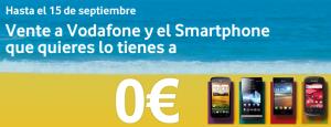 Vodafone vuelve a subvencionar hasta el 15 de septiembre