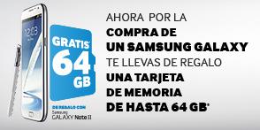 Promoción Samsung MicroSD de regalo con Galaxy Note II, SIII y Tab 10.1