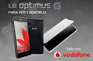LG regala un altavoz, una funda y sortea un pack de electrodomésticos al comprar un Optimus G con Vodafone