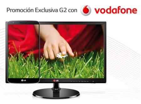 """LG regala una TV IPS 27"""" al comprar un G2 con Vodafone"""