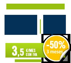 Promoción al 50% tres meses en tarifa Habla y Navega de HappyMóvil