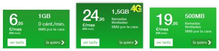 Amena renueva sus tarifas con la tarifa con llamadas ilimitadas más barata del mercado