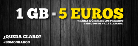 MásMóvil renueva la tarifa más barata de 1GB y minutos gratis